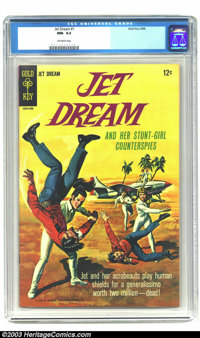 Jet Dream #1 (Gold Key, 1968) CGC NM- 9.2 Off-white pages. Painted cover. Highest grade yet assigned by CGC for this iss...