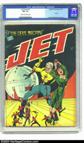 Golden Age (1938-1955):Science Fiction, Jet Powers #3 (Magazine Enterprises, 1951) CGC FN+ 6.5 Cream tooff-white pages. Bob Powell, Al Williamson, and George Evans...