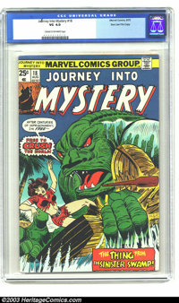 Journey into Mystery (2nd Series) #18 Stan Lee File Copy (Marvel, 1975) CGC VG 4.0 Cream to off-white pages. Man! How co...