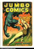 Golden Age (1938-1955):Adventure, Jumbo Comics #96 (Fiction House, 1947) Condition: VG. Joe Doolin cover. Matt Baker and Jack Kamen art. Overstreet 2002 GD 2....