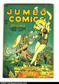 Golden Age (1938-1955):Adventure, Jumbo Comics #101 (Fiction House, 1947) Condition: VG/FN. Joe Doolin cover. Matt Baker and Jack Kamen art. Overstreet 2002 G...