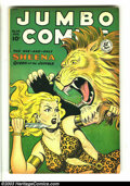 Golden Age (1938-1955):Adventure, Jumbo Comics #114 (Fiction House, 1948) Condition: VG/FN. Joe Doolin cover. Matt Baker and Jack Kamen art. Overstreet 2002 G...