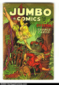 Golden Age (1938-1955):Adventure, Jumbo Comics #160 (Fiction House, 1952) Condition: VG-. Maurice Whitman cover. Jack Kamen art. Overstreet 2002 GD 2.0 value ...