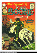 Silver Age (1956-1969):Adventure, Legends of Daniel Boone Group (DC, 1956) Condition: Average GD+. This group consists of issues #3 (cover loose), 6, and 8 (c...