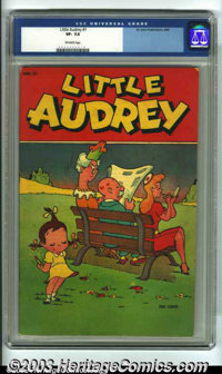 Little Audrey #1 (St. John, 1948) CGC VF- 7.5 Off-white pages. 1st appearance of Little Audrey. Overstreet 2003 VF 8.0 v...