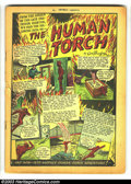 Golden Age (1938-1955):Superhero, Marvel Mystery Comics #2 (Timely, 1939) Condition: coverless. Rare; American Ace begins; Human Torch by Burgos, Sub-Mariner ...