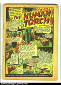 Golden Age (1938-1955):Superhero, Marvel Mystery Comics #9 (Timely, 1940) Condition: coverless. This scarce book features a classic Human Torch and Sub-Marine...