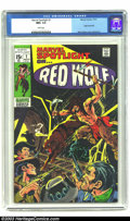 Bronze Age (1970-1979):Western, Marvel Spotlight #1 Red Wolf (Marvel, 1971) CGC NM+ 9.6 White pages. Origin of Red Wolf. First solo book predates Red Wolf...