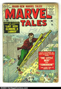 Silver Age (1956-1969):Horror, Marvel Tales Group (Marvel, 1955-56) Condition: Average GD/VG 3.0.This group contains issues #138, 140, 152, 154, and 155. ...(Total: 5 Comic Books Item)