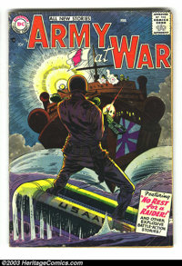 Misc. War Comics Group (Various, 1952-57)Condition: Average VG- 3.5. This group contains Our Army at War #55, All Amer...