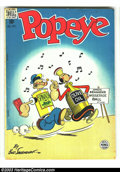 Golden Age (1938-1955):Cartoon Character, Popeye #8 (Dell, 1949) Condition: VG+. Overstreet 2003 VG 4.0 value = $24. ...