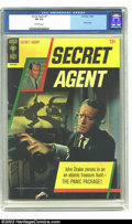 Silver Age (1956-1969):Adventure, Secret Agent #1 (Gold Key, 1966) CGC FN 6.0 Off-white pages. Photo cover. Overstreet 2003 FN 6.0 value = $36....