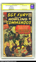 Silver Age (1956-1969):War, Sgt. Fury and His Howling Commandos #4 (Marvel, 1963) CGC PR 0.5 Cream to off-white pages. Signature Series . Jack Kirby cov...