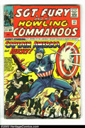 Silver Age (1956-1969):Superhero, Sgt. Fury and His Howling Commandos #13 (Marvel, 1964) Condition: VG+. Jack Kirby cover and art. Second Silver Age Captain A...