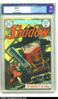Bronze Age (1970-1979):Miscellaneous, The Shadow #3 (DC, 1974) CGC NM- 9.2 Off-white to white pages. MikeKaluta cover and art, Bernie Wrightson art. Overstreet 2...
