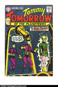 Showcase Group Tommy Tomorrow (DC, 1963) Condition: Average VG/FN 5.0. This group contains issues #42, part two of origi...