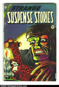 Golden Age (1938-1955):Horror, Strange Suspense Stories #20-22 Group (Charlton, 1954) Condition:Average VG 4.0. This group consists of issues #20-22. Issu...(Total: 3 Comic Books Item)