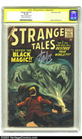 """Silver Age (1956-1969):Horror, Strange Tales #71 (Marvel, 1959) CGC GD 2.0 Cream to off-whitepages. Signature Series . Steve Ditko art. CGC notes, """"Signed..."""