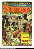 Golden Age (1938-1955):Horror, Strange Terrors #7 (St. John, 1953) Condition: VG-. Kubert coverand art. Cameron art. Overstreet 2003 VG 4.0 value = $110. ...