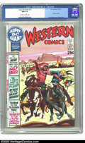 Bronze Age (1970-1979):Western, Super DC Giant #15 Western Comics (DC, 1970) CGC NM 9.4 Off-white to white pages. Joe Kubert cover, Gil Kane art. To date, t...