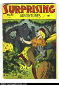 Golden Age (1938-1955):Adventure, Surprising Adventures #13 (Bell Features, 1948) Condition: VG. Canadian published. Rulah Jungle Goddess featured. No Overstr...