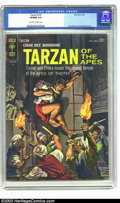 Silver Age (1956-1969):Adventure, Tarzan of the Apes #143 (Gold Key, 1964) CGC VF/NM 9.0 Off-white to white pages. Jesse Marsh and Russ Manning art. Highest-g...