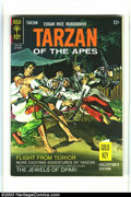 Silver Age (1956-1969):Adventure, Tarzan of the Apes Group (Gold Key, 1966-69) Condition: Average VF/NM. This group contains issues #160, 164, 181, 186, and 1... (Total: 5 Comic Books Item)
