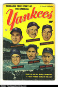 Golden Age (1938-1955):Non-Fiction, Thrilling True Story of the Baseball Yankees nn (Fawcett, 1952)Condition: GD+. Features Yogi Berra, Joe DiMaggio, Mickey Ma...