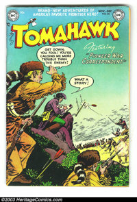 Tomahawk #20 (DC, 1953) Condition: FN 6.0. Overstreet 2003 value = $72