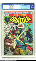 Bronze Age (1970-1979):Horror, Tomb of Dracula #9 (Marvel, 1973) CGC NM 9.4 Off-white to white pages. Gene Colan and Vince Colletta art. Overstreet 2003 NM...