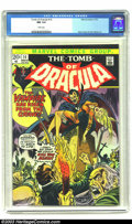 Bronze Age (1970-1979):Horror, Tomb of Dracula #14 (Marvel, 1973) CGC NM 9.4 White pages. GeneColan and Tom Palmer art. Only two copies of this issue have...