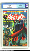 Bronze Age (1970-1979):Horror, Tomb of Dracula #17 Western Penn pedigree (Marvel, 1974) CGC NM 9.4White pages. Blade bitten by Dracula. Gene Colan and Tom...