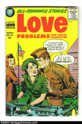 Silver Age (1956-1969):Romance, True Love Problems Group (Harvey, 1956) Condition: Average VG 4.0.This group consists of issues #38, and 40-42. Overstreet ...