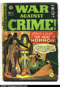War Against Crime #11 (EC, 1950) Condition: GD-. Johnny Craig cover. First horror cover this title. Second Vault Keeper...
