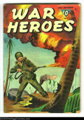 Golden Age (1938-1955):War, War Heroes #9 (Dell, 1944) Condition: GD+. Painted cover. Several small pieces off lower front cover. Overstreet 2003 GD 2.0...