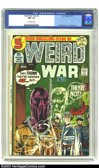 Weird War Tales #5 (DC, 1972) CGC NM- 9.2 Off-white pages. Alex Toth and Russ Heath artwork. Overstreet 2003 NM 9.4 valu...