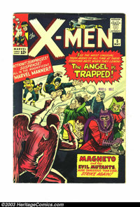 X-Men #5 (Marvel, 1964) Condition: VG+ 4.5. Magneto and Evil Mutants cover and story. Overstreet 2003 VG 4.0 value = $86...