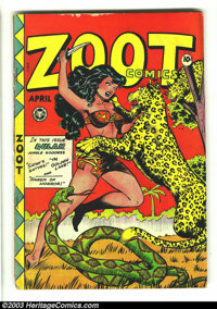 Zoot Comics #13 (second #13) (Fox Features Syndicate, 1948) Condition: VG-. Overstreet 2003 VG 4.0 value = $96