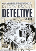 Original Comic Art:Covers, Al Avison - Original Cover Art for Kerry Drake Detective Cases #16(Harvey, 1950s). Just who's got the drop on who here? Ker...