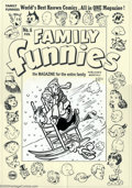 Original Comic Art:Covers, Al Avison - Original Cover Art for Family Funnies #6 (Harvey,1950). Dagwood, Cookie, Alexander and Daisy take an impromptu ...