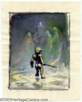 Original Comic Art:Sketches, Frank Frazetta - Original Preliminary Art for Paradox (undated). Frank Frazetta is the king of fantasy art. In his pictures,...