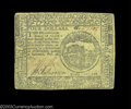 Colonial Notes:Continental Congress Issues, Continental Currency February 26, 1777 $4 Choice Very Fine.