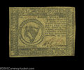 Colonial Notes:Continental Congress Issues, Continental Currency February 26, 1777 $8 Extremely Fine. ...