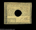 Colonial Notes:New Hampshire, New Hampshire April 29, 1780 $4 Choice Very Fine. Canceled ...