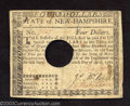 Colonial Notes:New Hampshire, April 29, 1780, $4, New Hampshire, NH-181, Very Fine. An ...