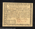 Colonial Notes:Rhode Island, July 2, 1780, $20, Rhode Island, RI-289, Gem CU. This is an ...