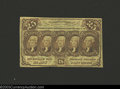Fractional Currency:First Issue, First Issue 25c, Fr-1282, XF. This is the straight edge ...