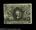 Fractional Currency:Second Issue, Fr. 1235 5c Second Issue Very Choice New. This is a near-...