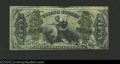 Fractional Currency:Third Issue, Third Issue Justice 50c, Fr-1363, VF+. This green back ...