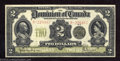 Canadian Currency: , DC-22d $2 1914 Very Fine. This design type is very seldom ...